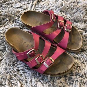 Birkenstock Pink Florida sandals slides